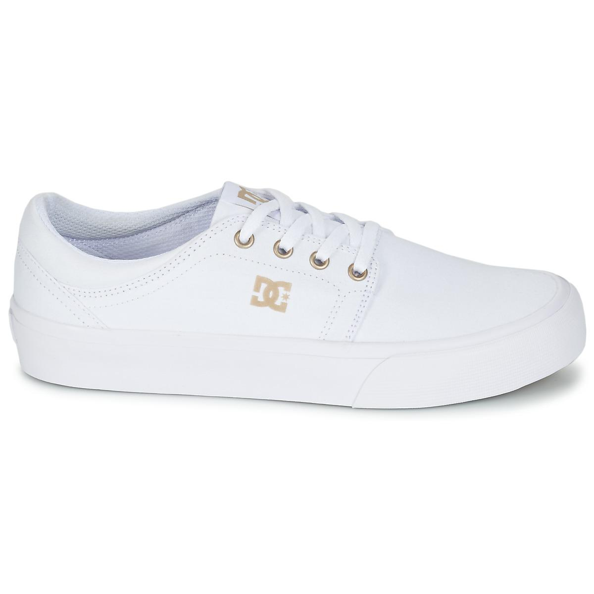fb1e0c9715fe77 DC Shoes Trase Tx J Shoe Wg5 Women s Shoes (trainers) In White in ...