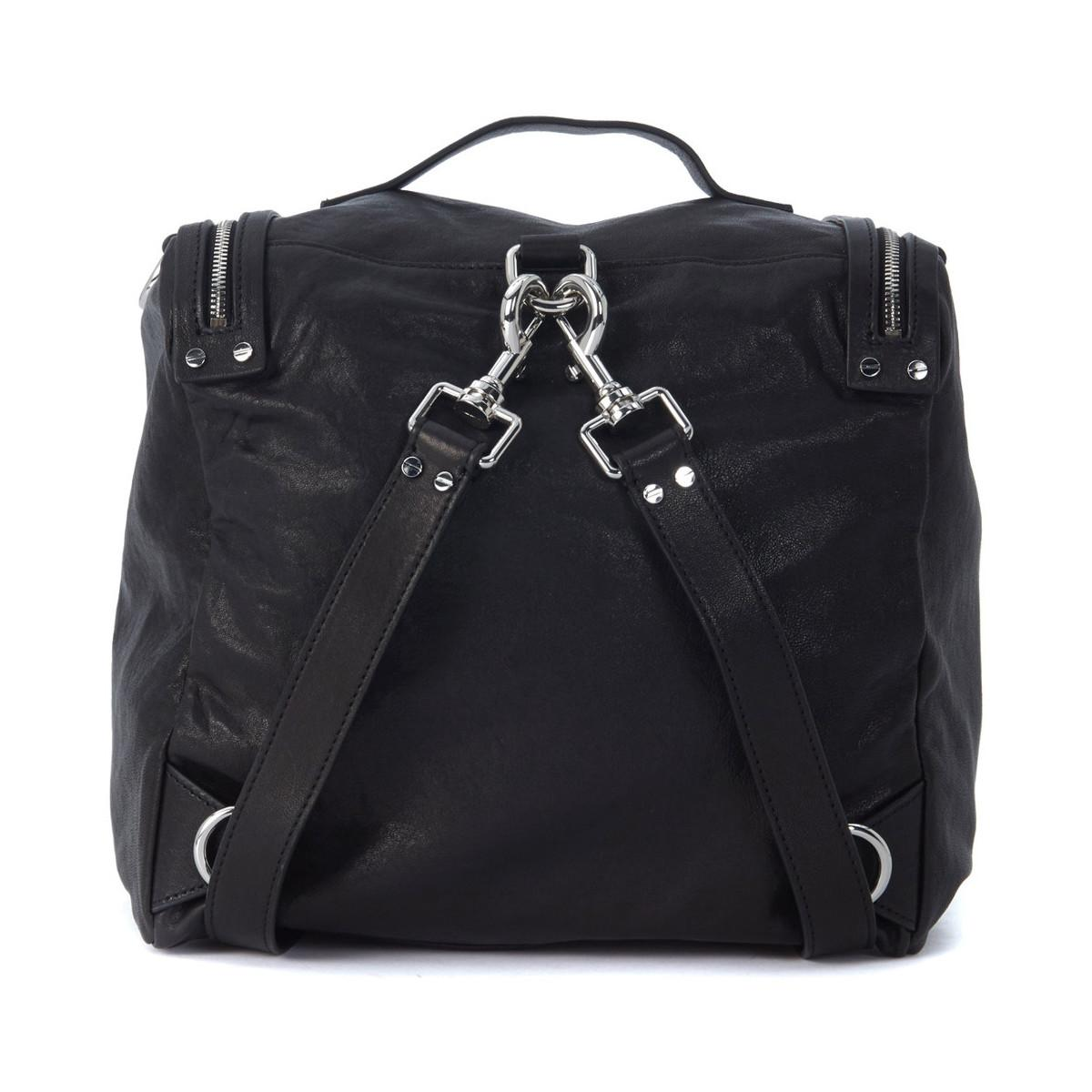 McQ by Alexander McQueen Bunny faux leather backpack gXUSS4e52A
