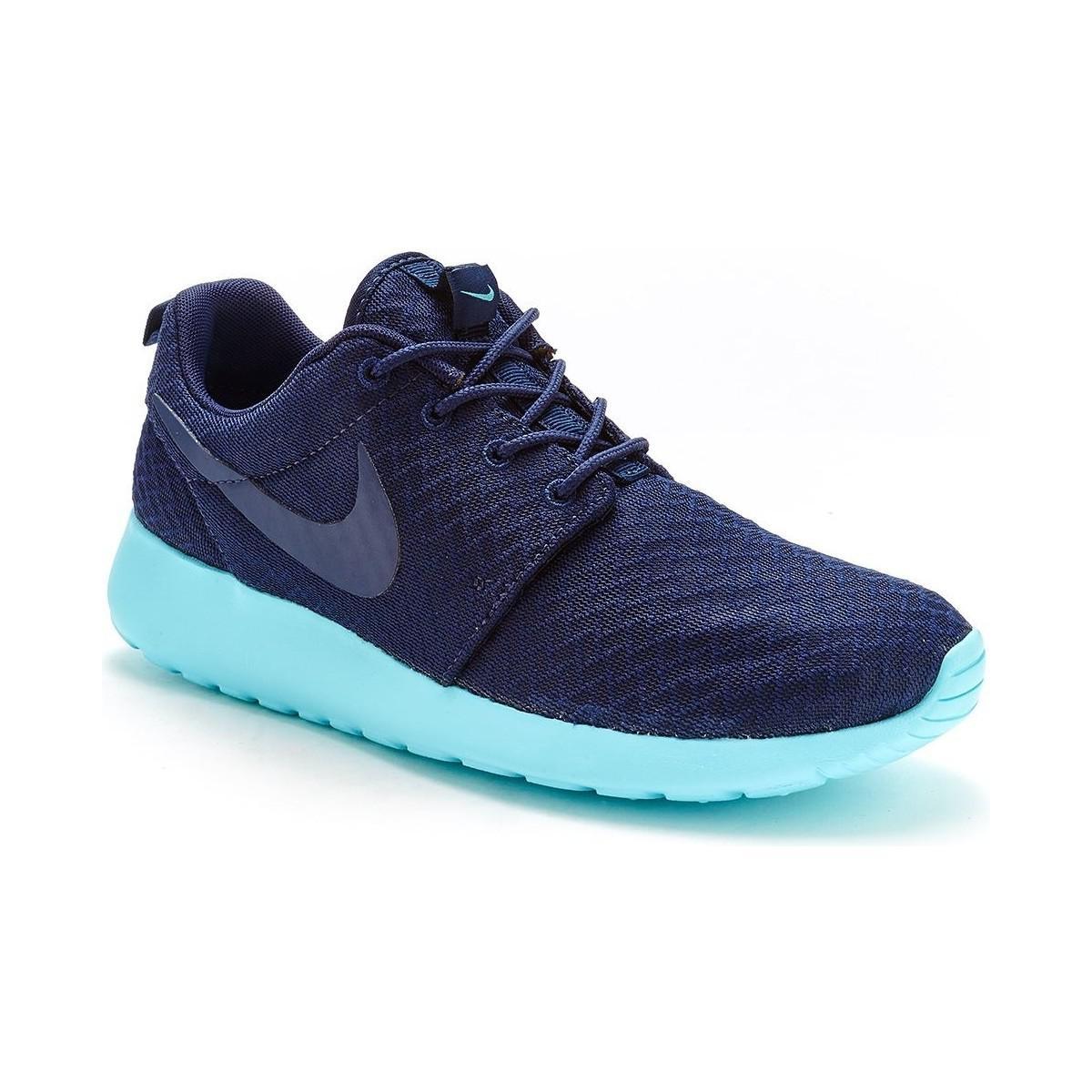 best website 7d89e e3072 Nike Roshe One Women Trainers In Midnight Navy Tide Pool Blue 5118 ...