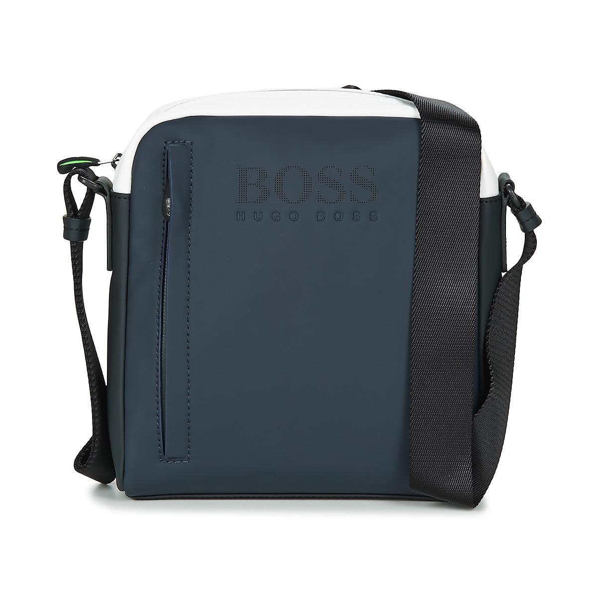 54632930be92 Lyst - Sacoche HYPER T NS ZIP Boss Athleisure pour homme en coloris Bleu
