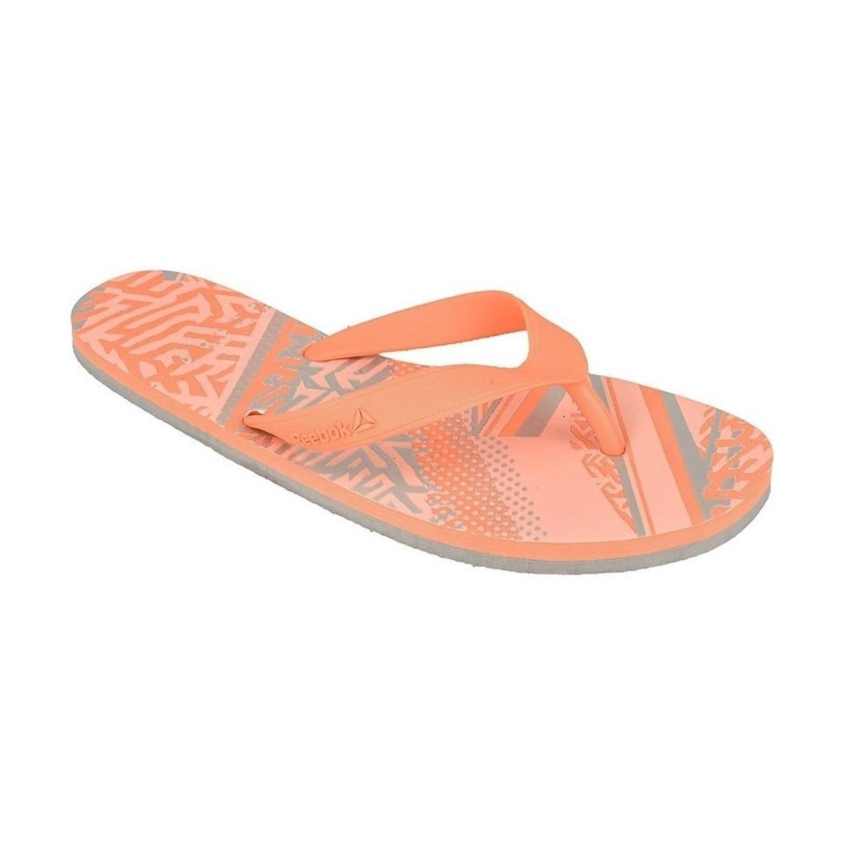 1020657e7be7fc Reebok Cash Flip W Women s Flip Flops   Sandals (shoes) In Pink in ...