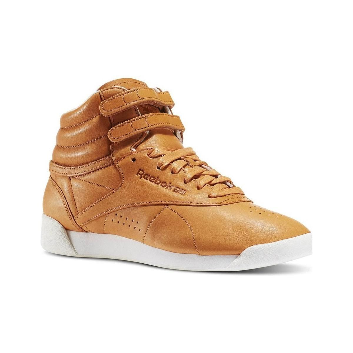 66c4332ea475 Reebok Fs Hi Face 35 Women s Shoes (high-top Trainers) In Brown in ...