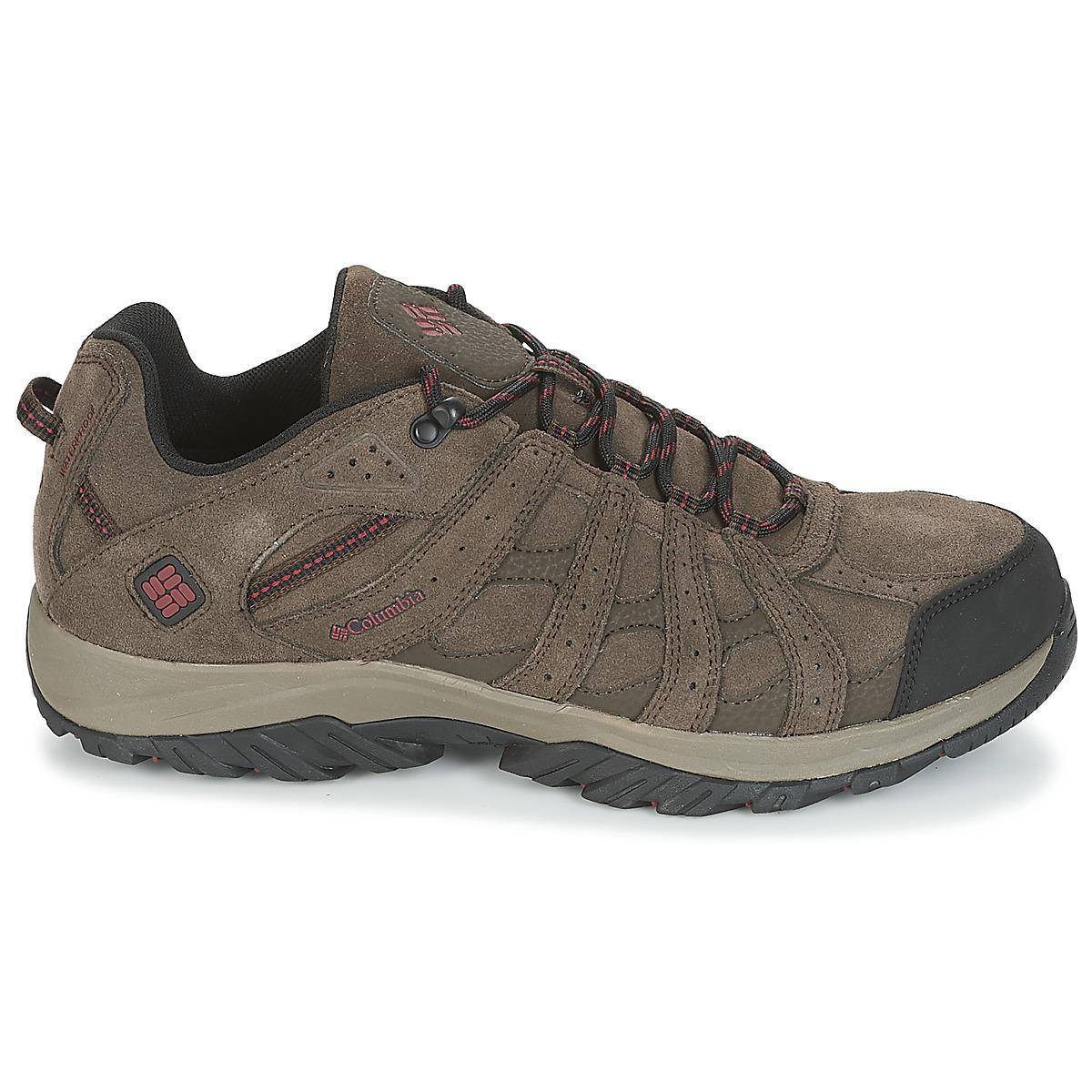 Columbia - Canyon Point Leather Omnitech Men's Walking Boots In Brown for  Men - Lyst. View fullscreen