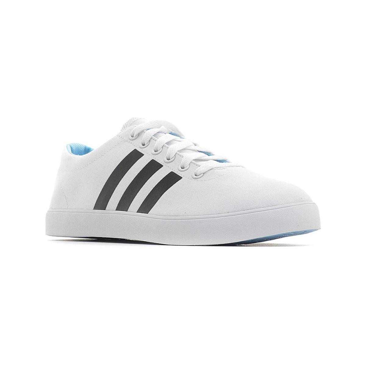 adidas Easy Vulc Vs Men s Shoes (trainers) In White in White for Men ... c12b04ab3