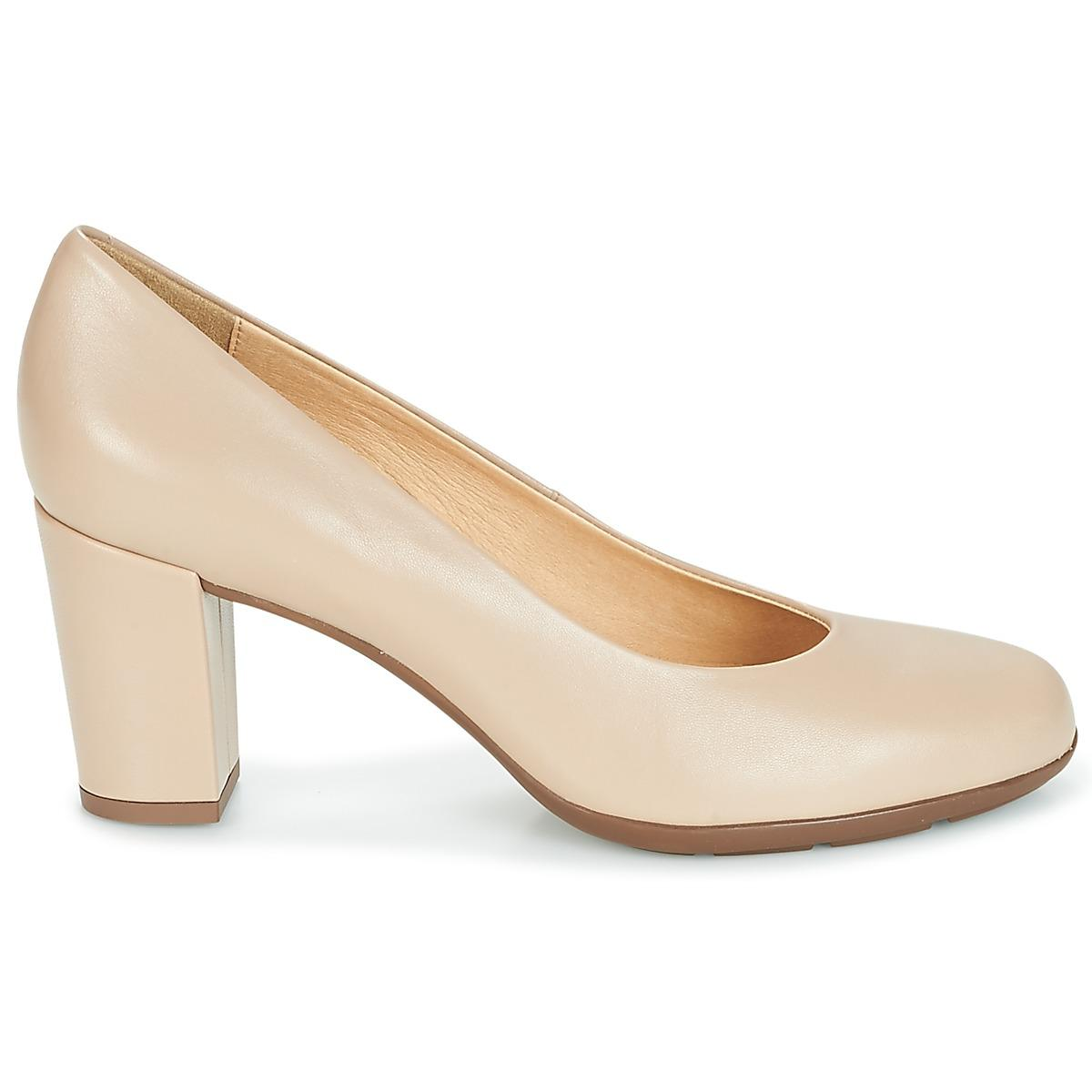 Geox - Natural Annya C Women's Court Shoes In Beige - Lyst. View fullscreen