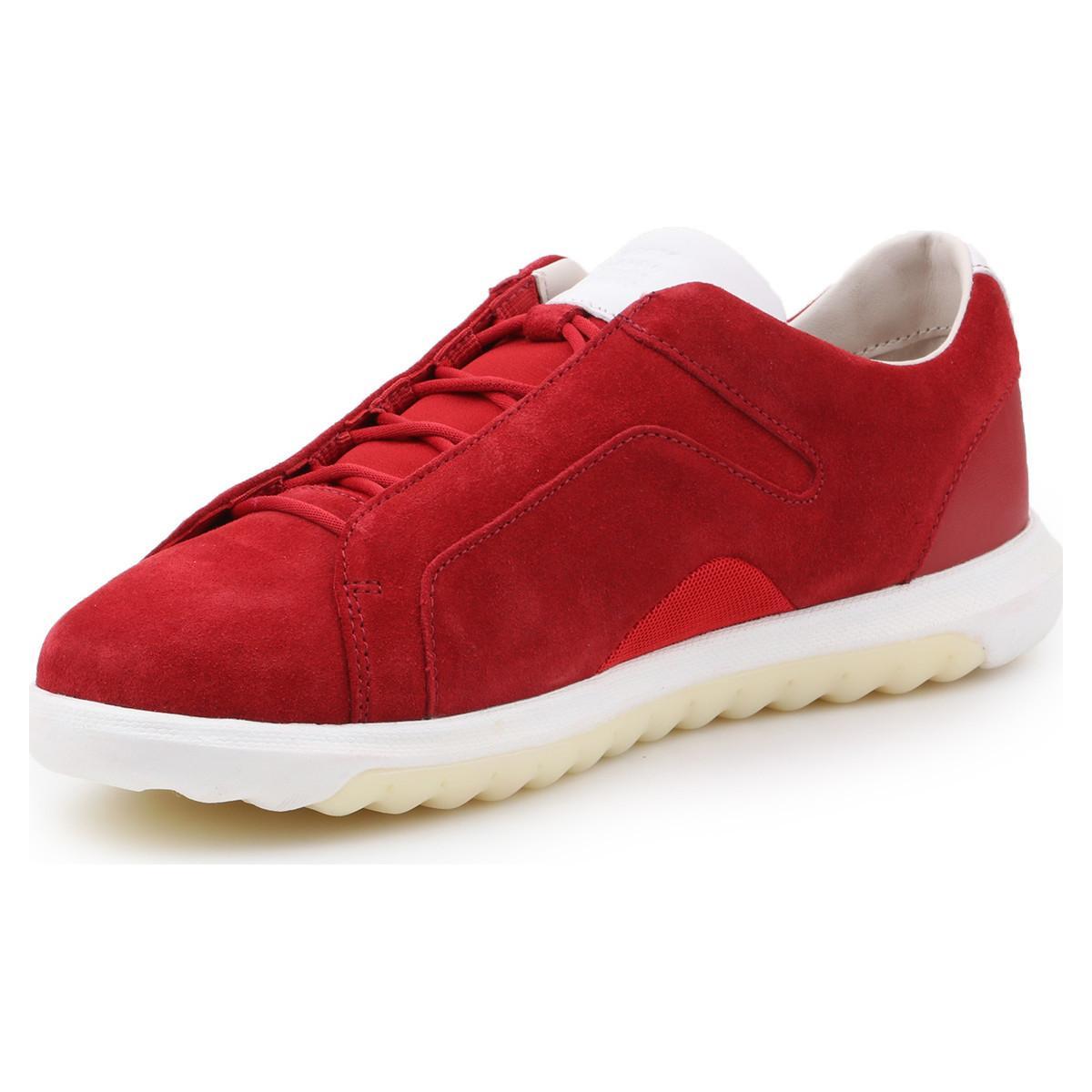 fe9db9598e zapatos geox u nexside a 00022 c7000 red