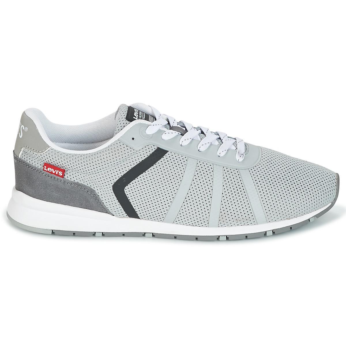 the latest 8d101 6b5cf For Almayer Shoes Levi s In Men s Lite Levis trainers Gray Grey 5ISHSxz