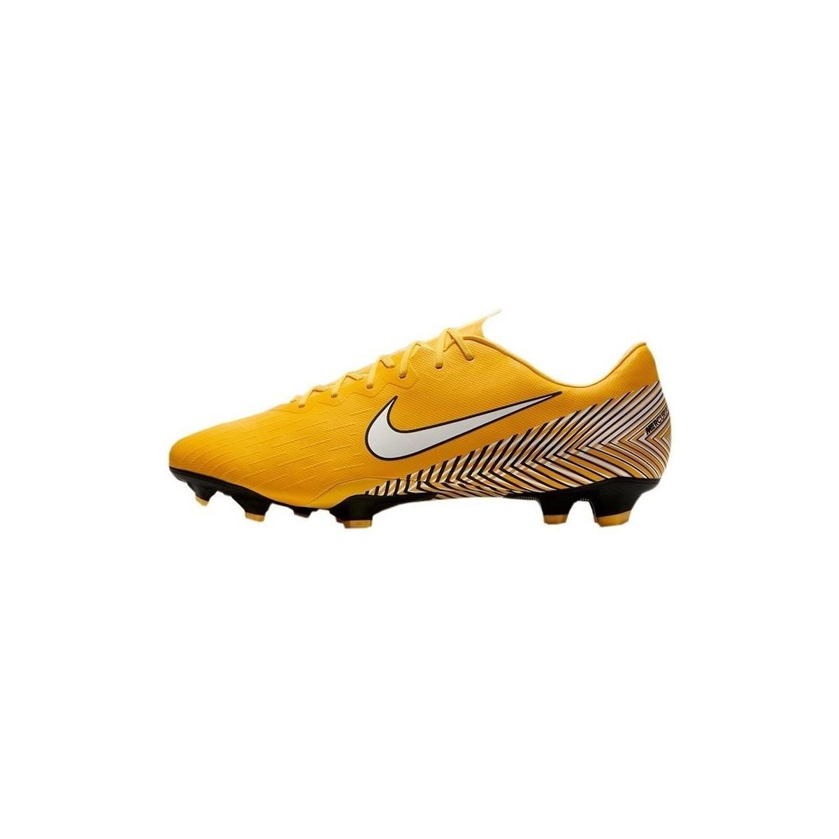9122d75878ed Nike Neymar Vapor 12 Pro Fg Men's Football Boots In Yellow in Yellow ...