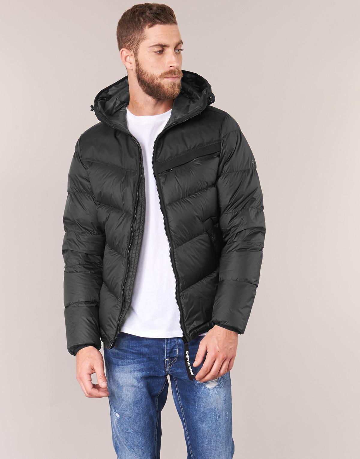 a21ad14858feb G-Star Raw Attacc Qlt Hdd Down Jkt Jacket in Black for Men - Lyst