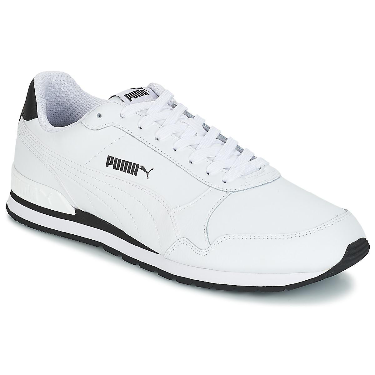 official photos ca481 bc3a9 Lyst - ST RUNNER V2 FUL.WHT hommes Chaussures en blanc PUMA pour ...