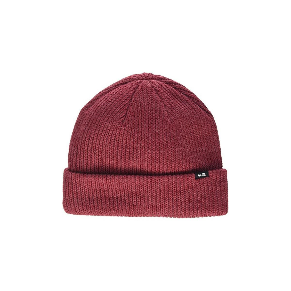 678a8f810b6 ... Vans Gorro Core Basic Wmns Womens Beanie In Red in Red - Lys lace up in  ...