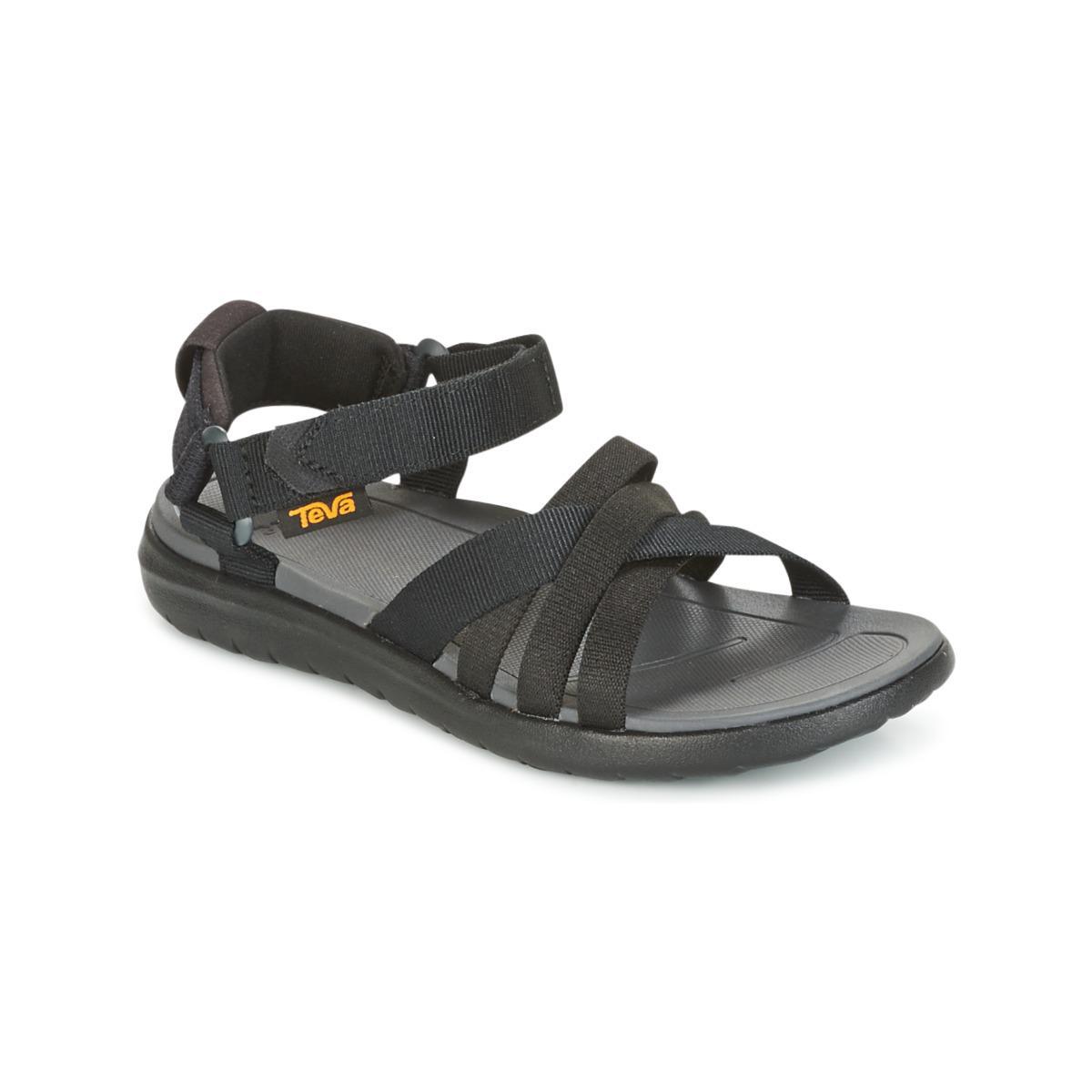 56d50f7348b7 Teva Sanborn Sandal Sandals in Black - Lyst
