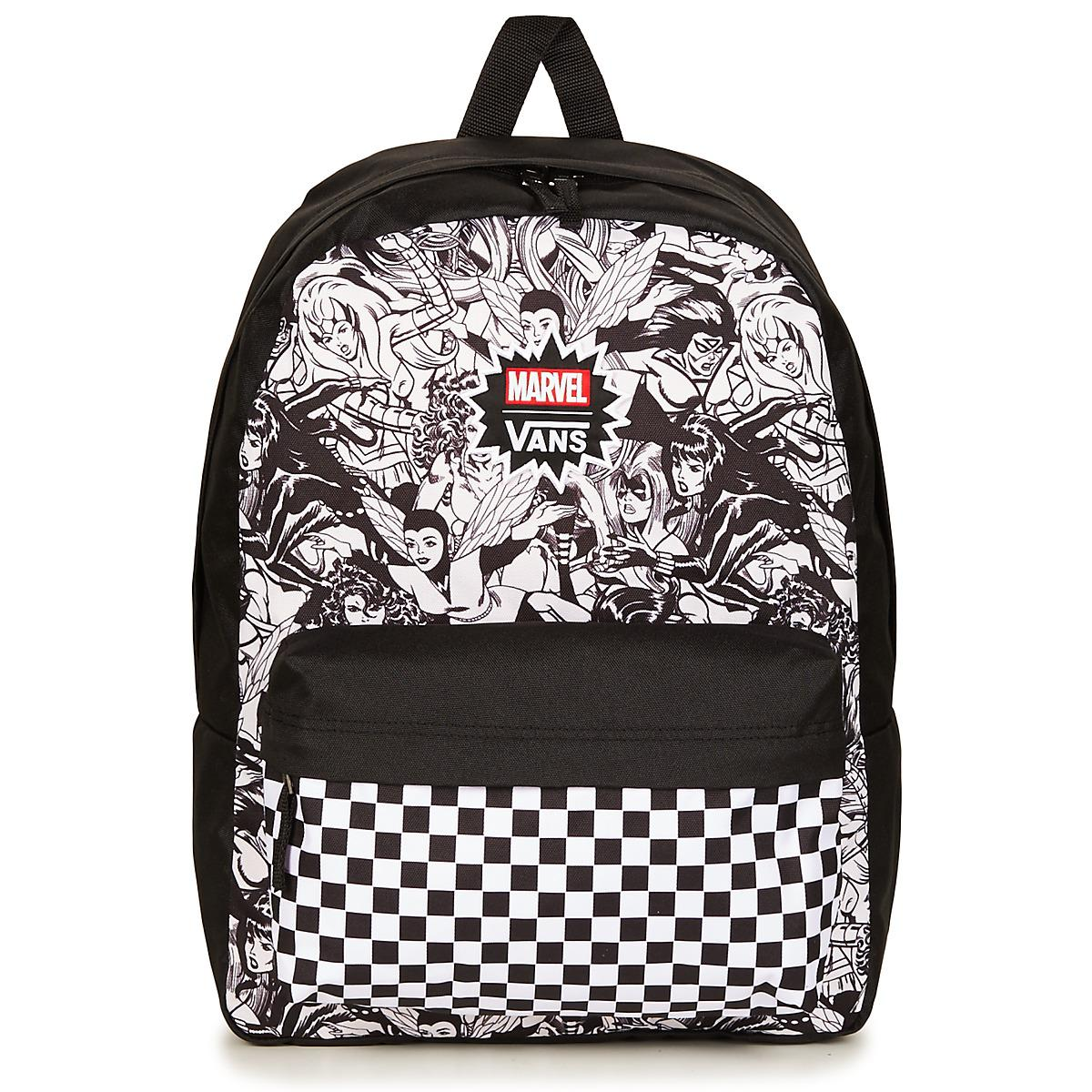 Vans Black And White Faces Backpack- Fenix Toulouse Handball