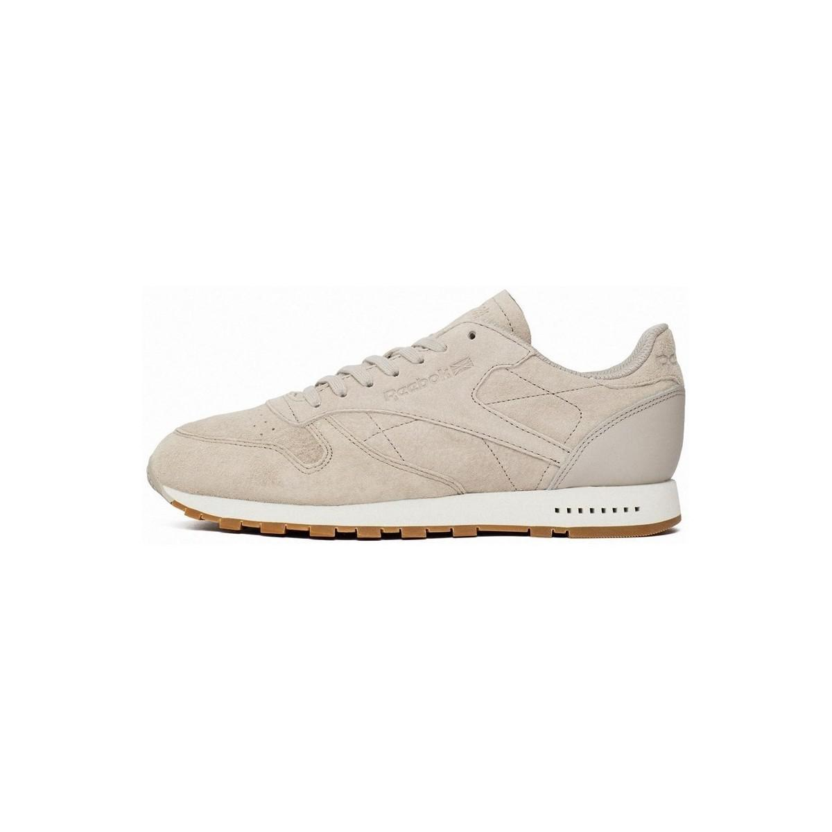 52a29b7da9c549 Reebok. Natural Classic Leather Sg Sand Stone Men s Shoes (trainers) In  Beige