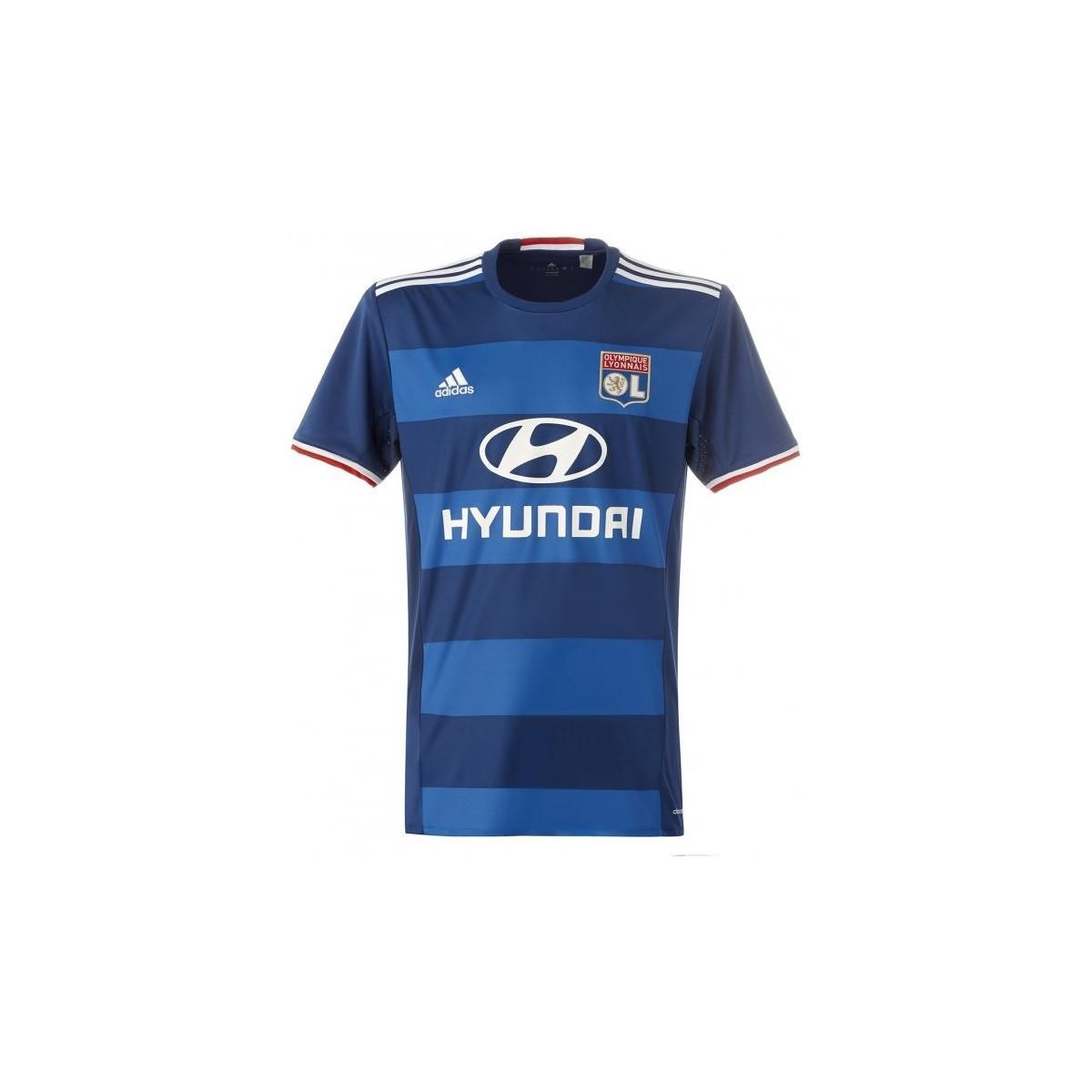 timeless design 93809 4a024 Adidas 2016-2017 Olympique Lyon Away Football Shirt Women's ...