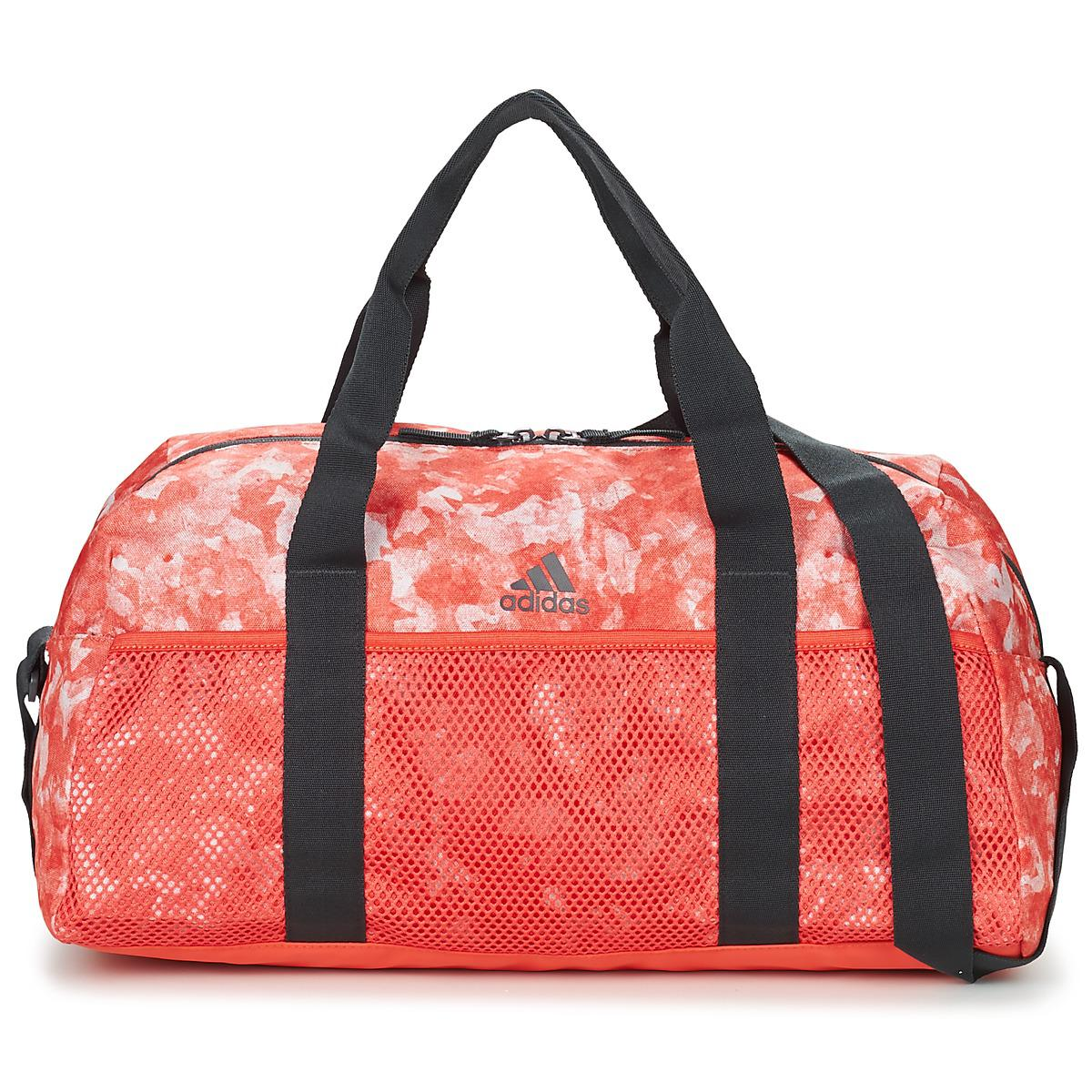 adidas Training Duffle Small Women s Sports Bag In Red in Red for ... b4f6427b8