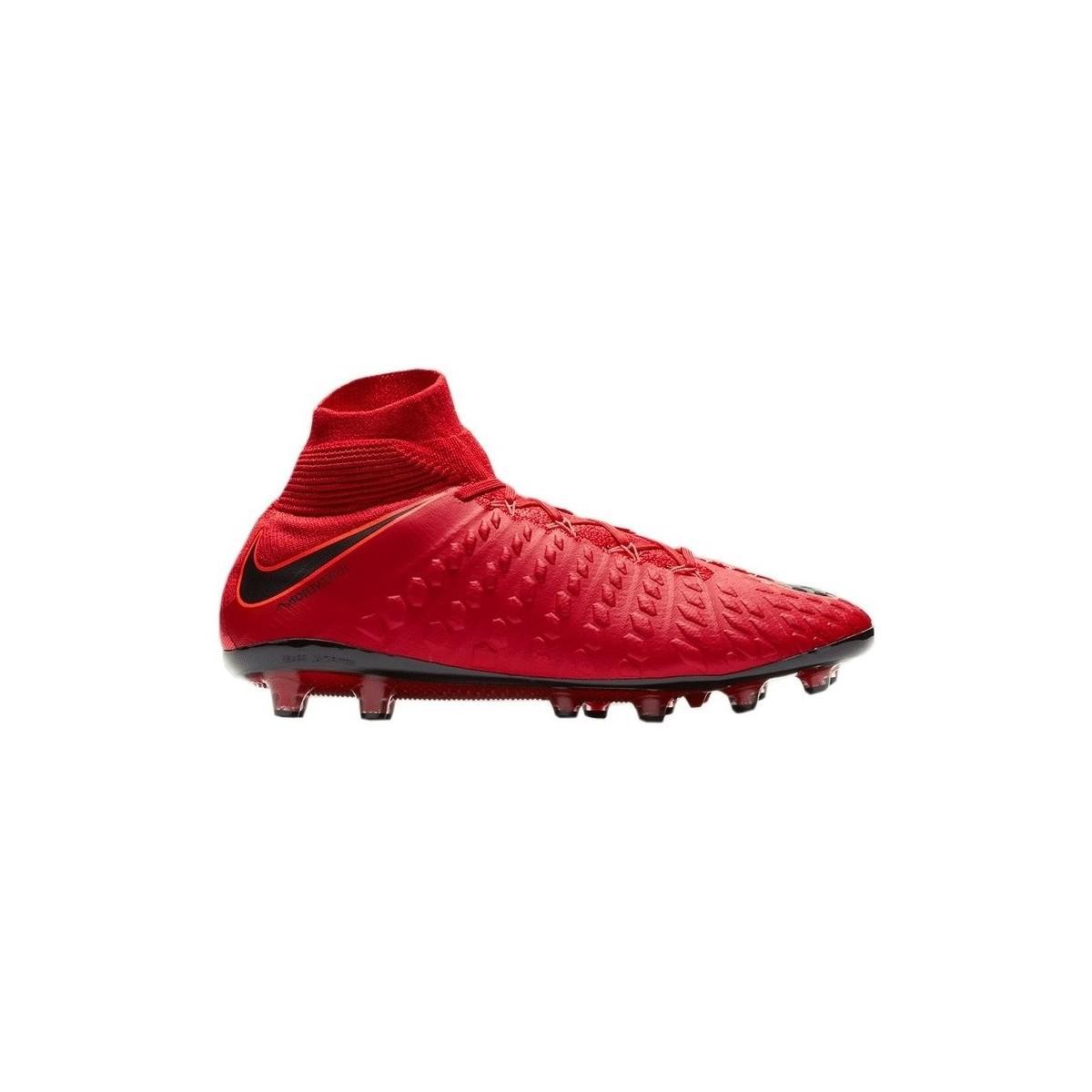 0570a32a6 Nike Hypervenom Phantom Iii Df Agpro Fire Men s Mid Boots In Red in ...