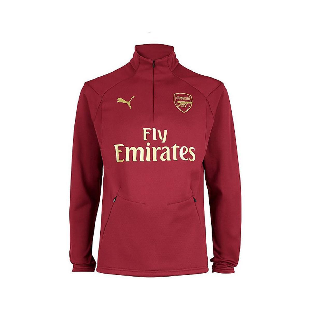 531579eb28540d PUMA 2018-2019 Arsenal Training Fleece Men's Sweatshirt In Red in ...