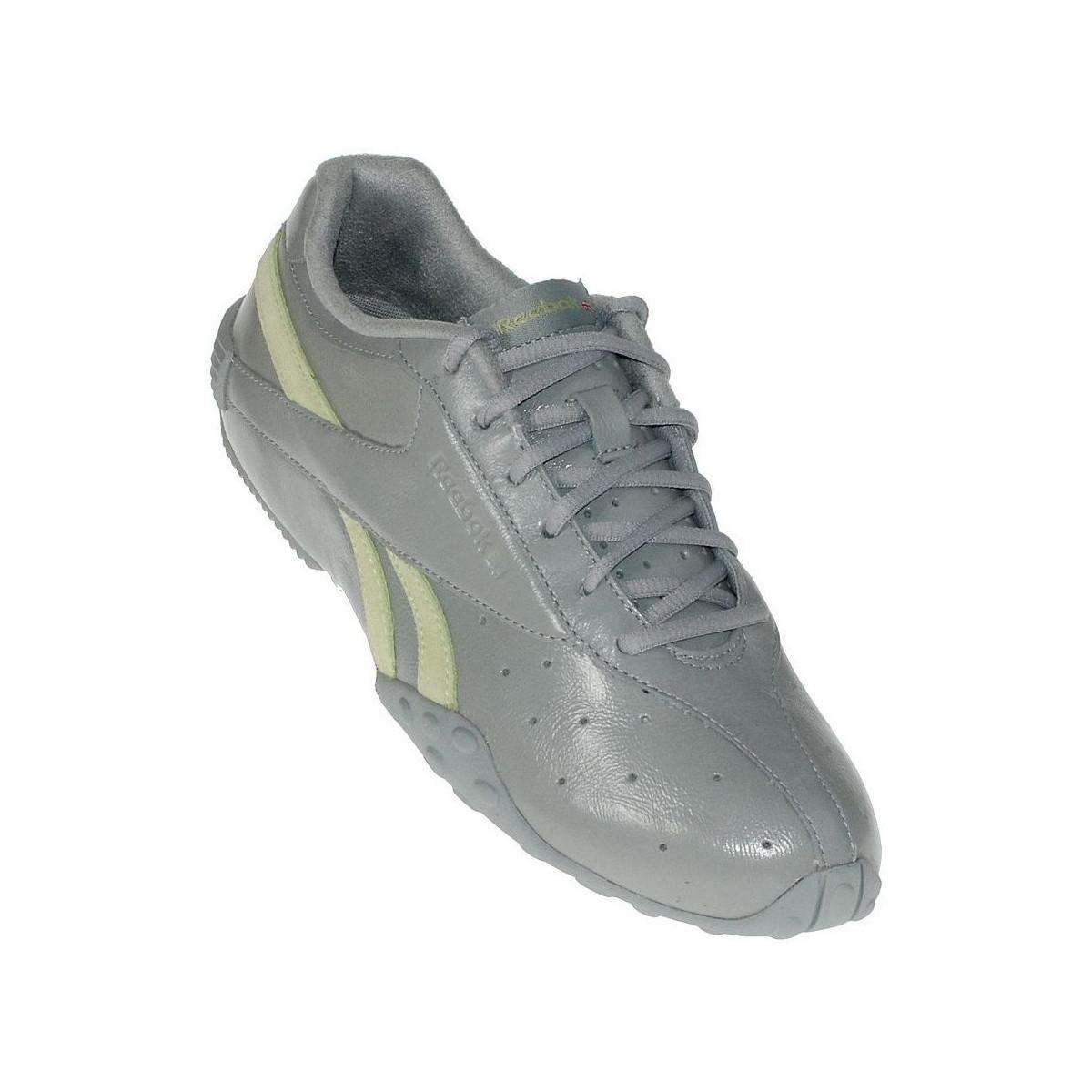 Vanta Gray Trainers Qxw1410h Crisp Lyst In Reebok Shoes Women's Grey NnwOyvPm80