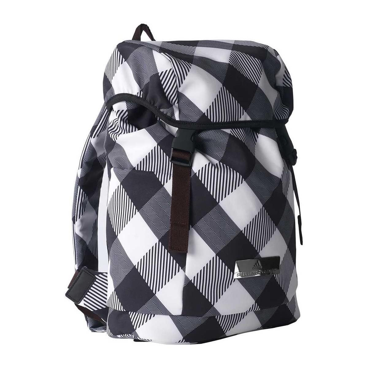 adidas Backpack - Black white Check - One Size Black Women s Sports ... 49c3e47c9f