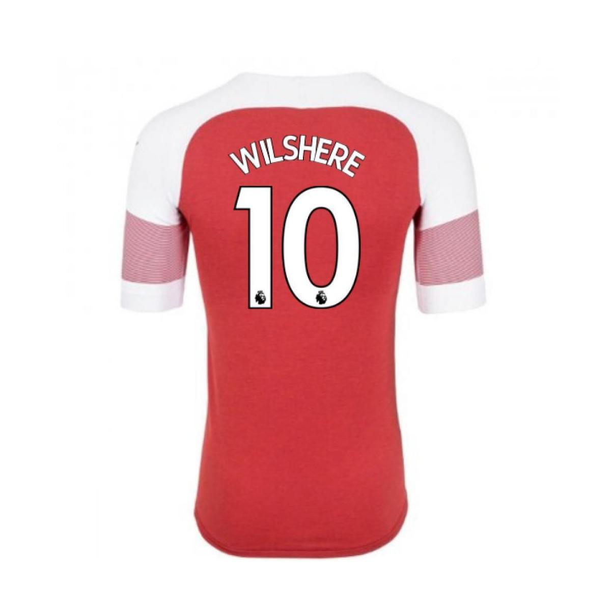 PUMA 2018-2019 Arsenal Home Football Shirt (wilshere 10) Men s T ... 46893b6fe