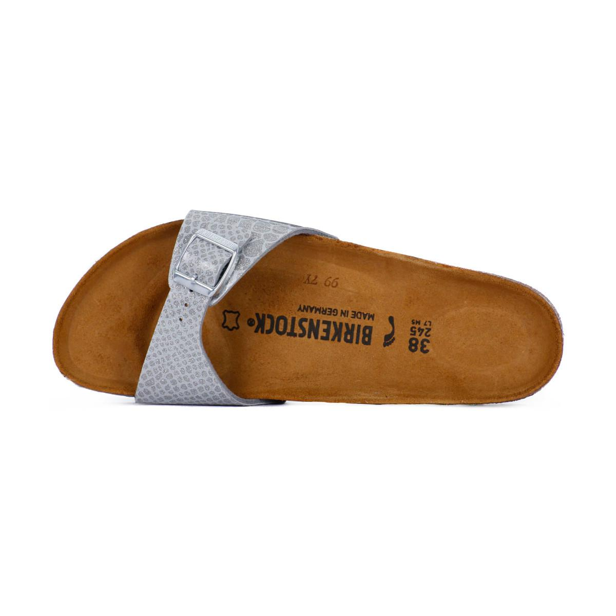 9ef1c13dc0d47 Birkenstock Madrid Magic Snake Women s Mules   Casual Shoes In Grey ...