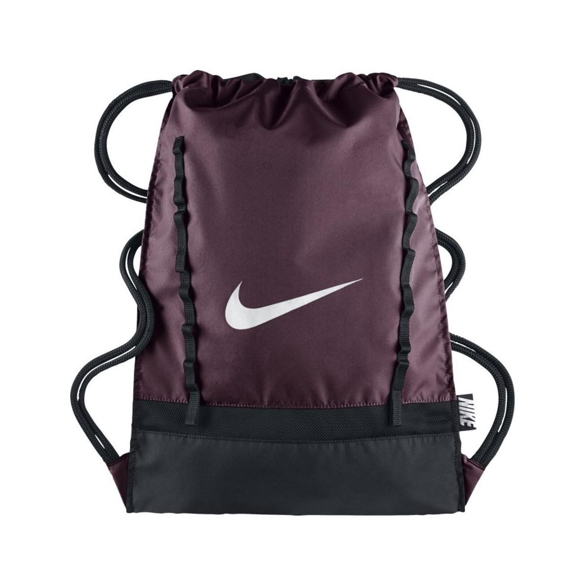 b03191ca3eb7 Lyst - Nike Brasilia 7 Gymsack Women s Backpack In Black in Black ...