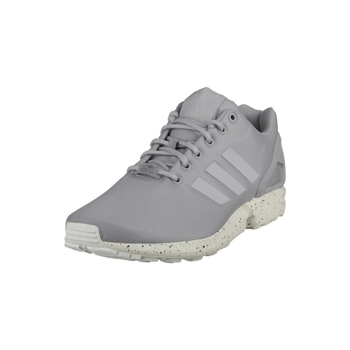 ffc6cd55a Adidas - Gray Zx Flux Men s Shoes (trainers) In Multicolour for Men - Lyst.  View fullscreen