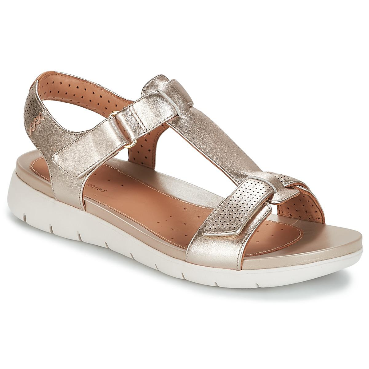 8c6da9485ee4 Gallery. Previously sold at  Spartoo · Women s Gold Sandals ...