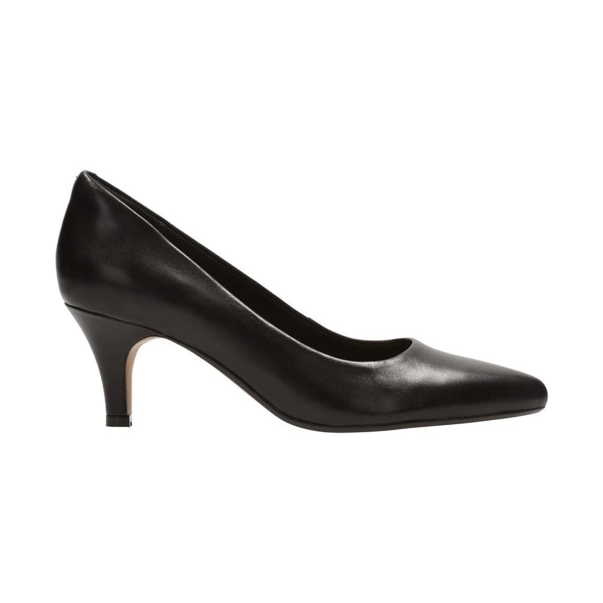 5cbdc811318 Clarks - Isidora Faye Womens Wide Dress Court Shoes Women s Court Shoes In  Black - Lyst. View fullscreen