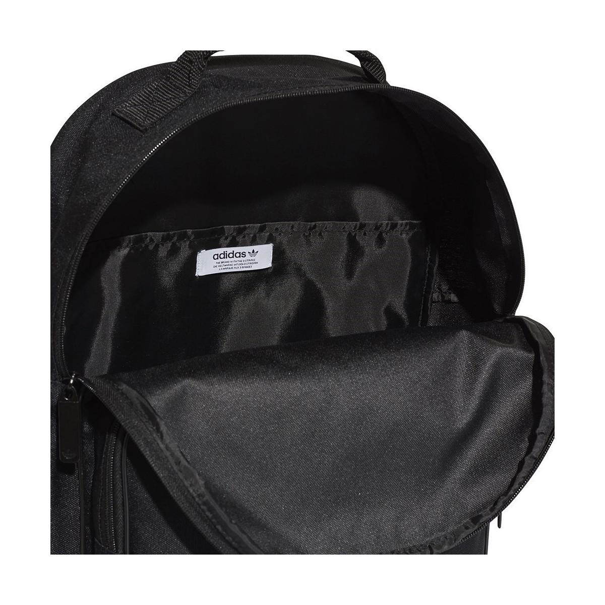 ... premium selection e0b7c bcc69 Adidas - Originals Trefoil Boyss  Childrens Backpack In Black for Men ... a0e3c93a21