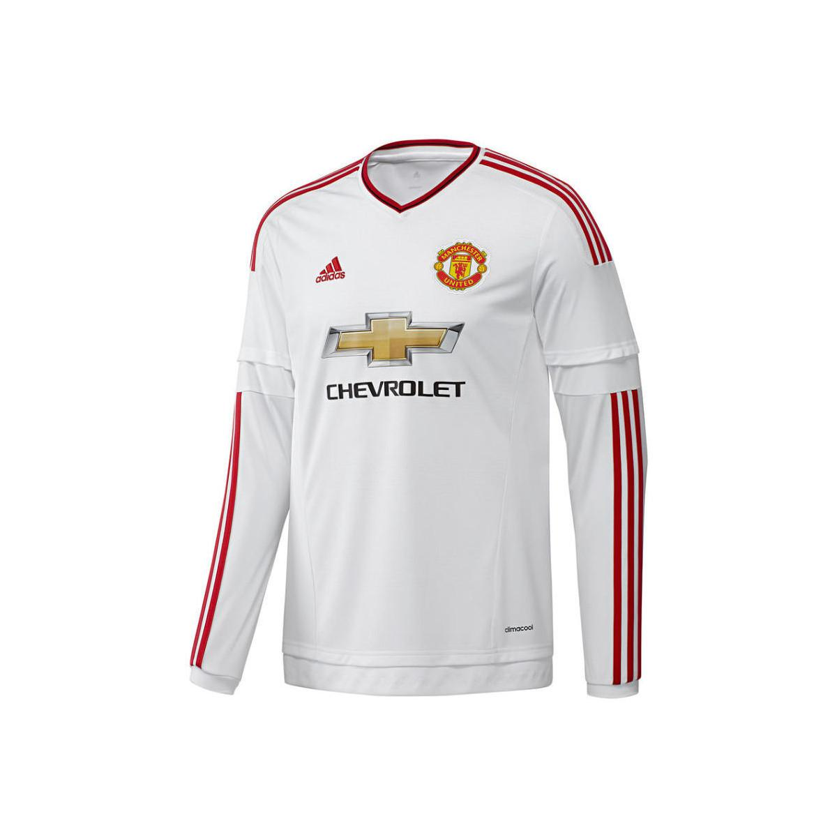 f70086cce01 adidas 2015-2016 Man Utd Long Sleeve Away Shirt (fellaini 27) - Kids ...