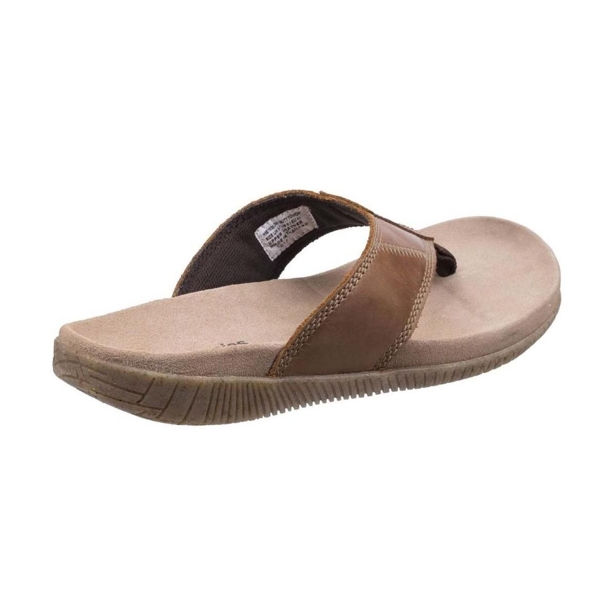 da0d5bc6883 Hush Puppies Mutt Toe Post Mens Sandals Men s Flip Flops   Sandals ...