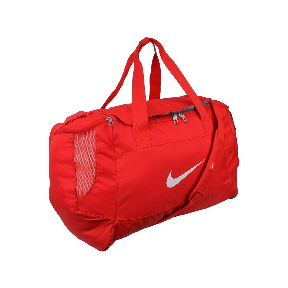 eb0eb2168133 Nike Club Team Duffel M Men s Sports Bag In Red in Red for Men - Lyst