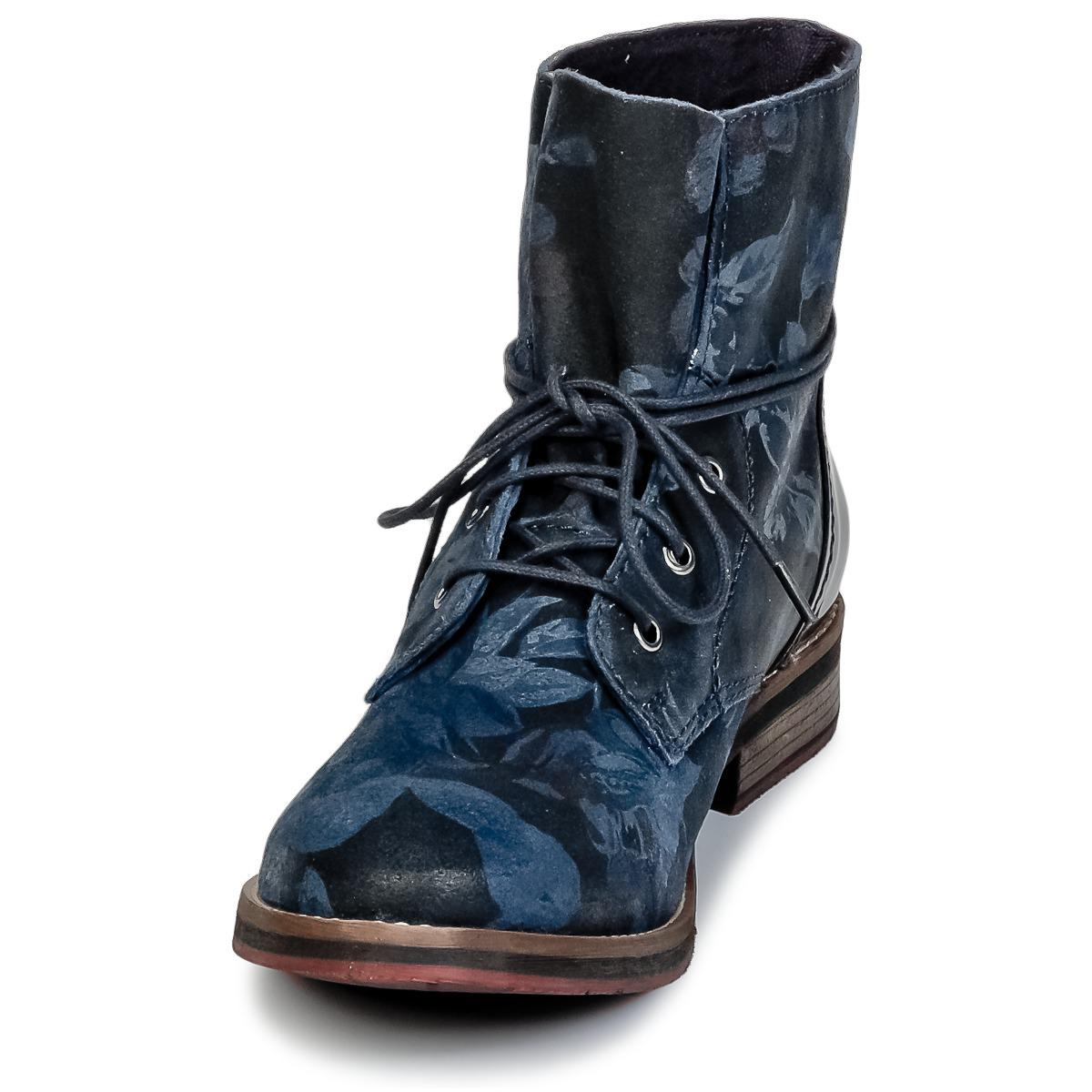 Lyst - JOBIALO femmes Boots en Bleu S.Oliver en coloris Bleu 315ba35ca7d