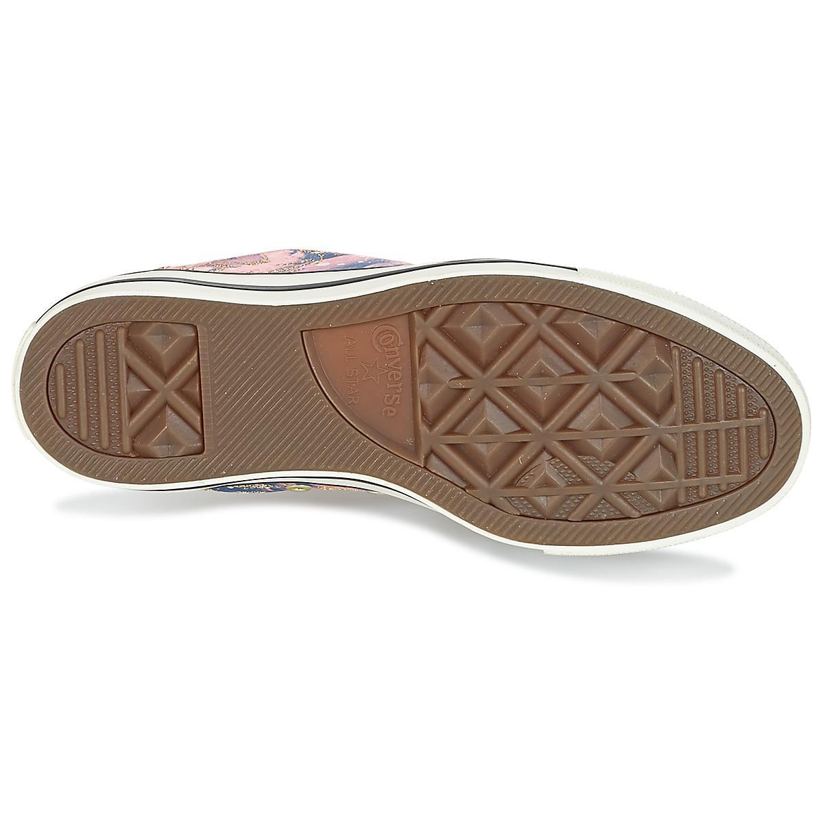 8353fd57052237 Converse Chuck Taylor All Star Hi Feather Print Women s Shoes (high ...