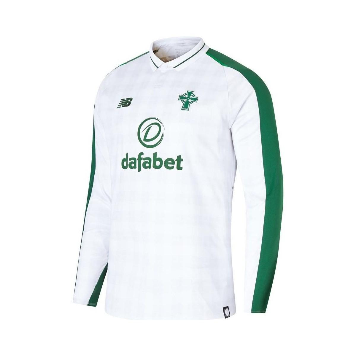 399d58203 New Balance 2018-2019 Celtic Away Long Sleeve Shirt Women s In White ...