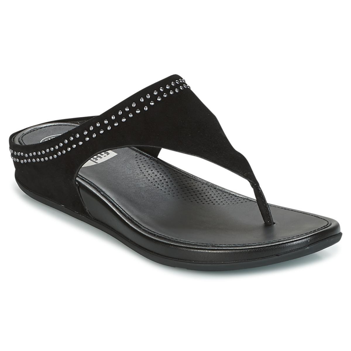 cf1c31bebec Fitflop Banda Toepost With Studs Women s Flip Flops   Sandals (shoes ...