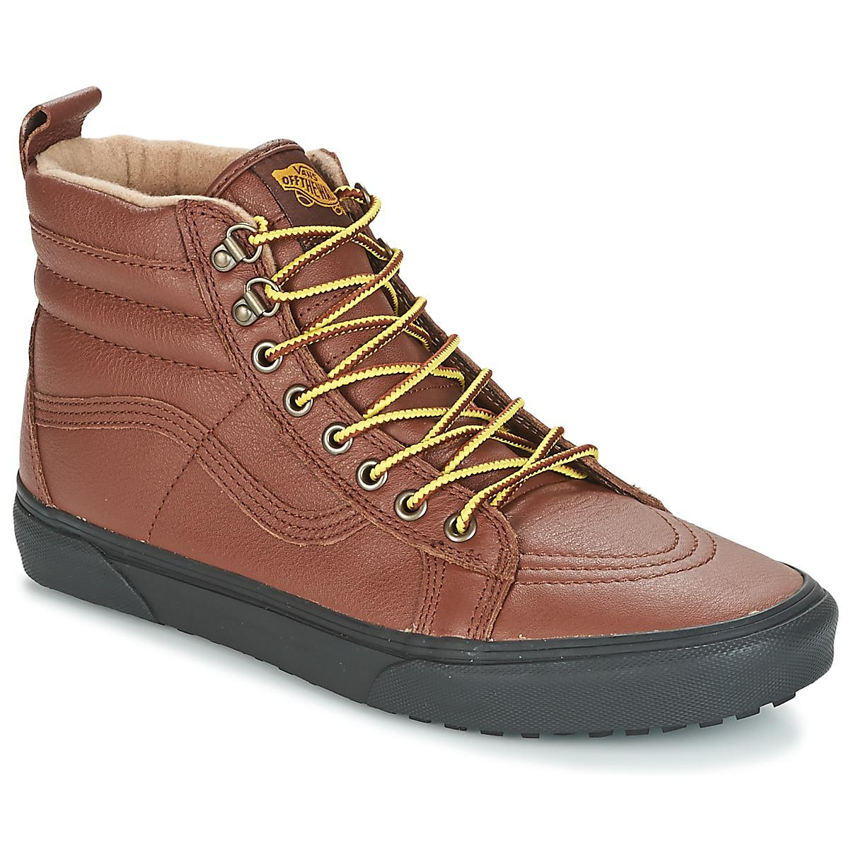1d03044f86 Vans Sk8-hi Mte Men s Shoes (high-top Trainers) In Brown in Brown ...