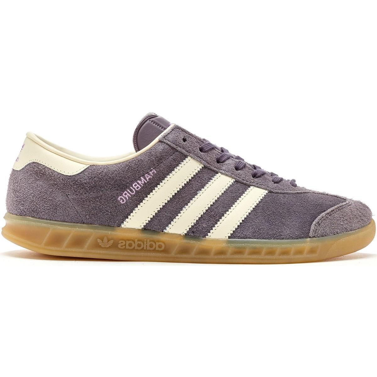 Adidas. Gray Hamburg Women Trainers ...