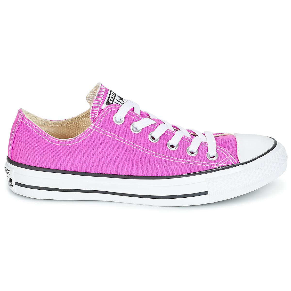 100ba0be63065a Converse - Chuck Taylor All Star Ox Seasonal Colors Women s Shoes  (trainers) In Pink. View fullscreen