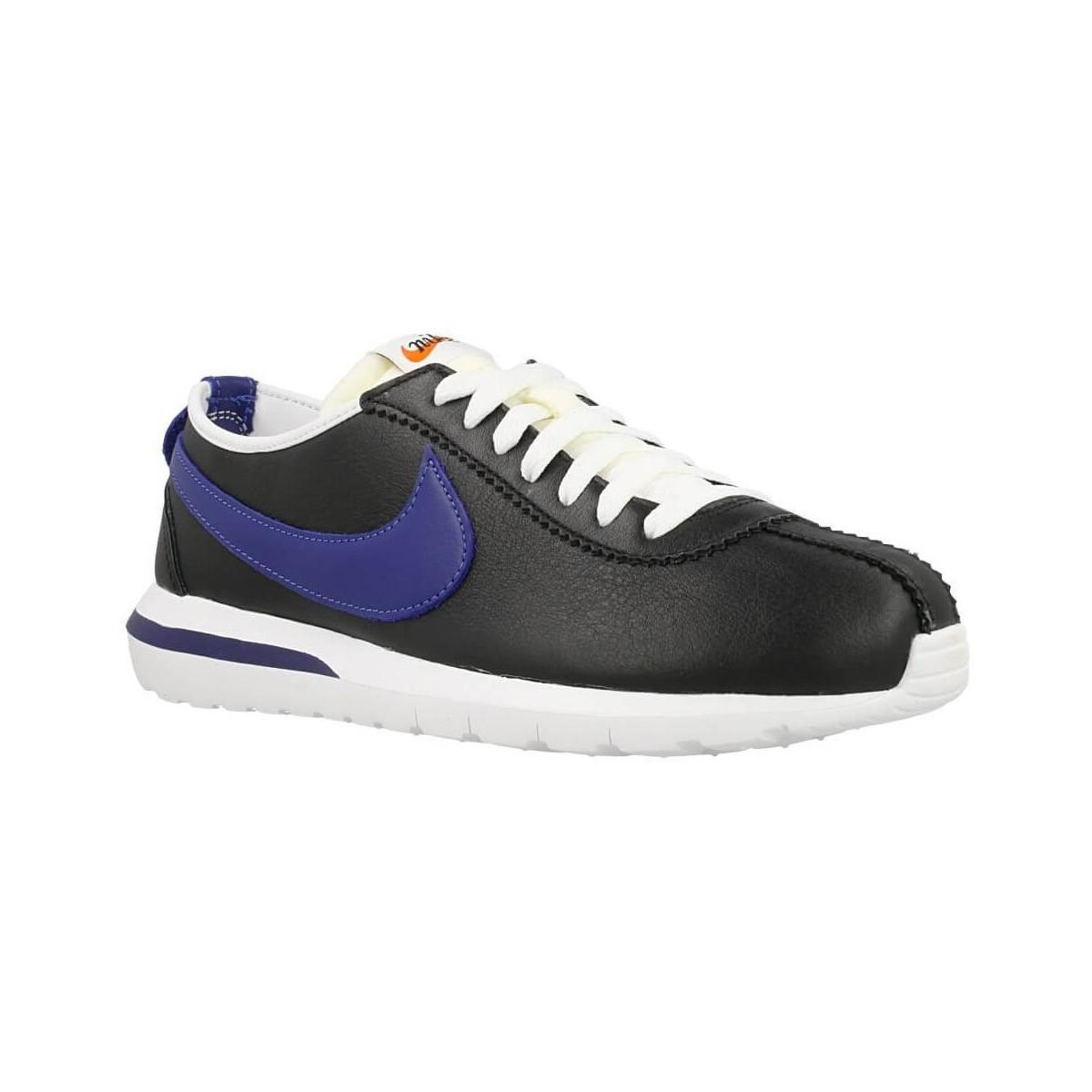 buy popular 45f90 ebbce Nike. Roshe Cortez Nm Ltr Mens Shoes (trainers) In Black