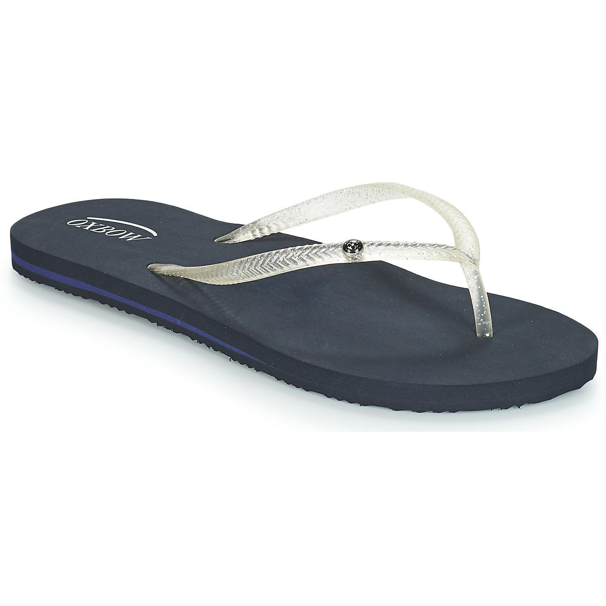 39c9da94b497 Oxbow Vong Flip Flops   Sandals (shoes) in Blue - Lyst