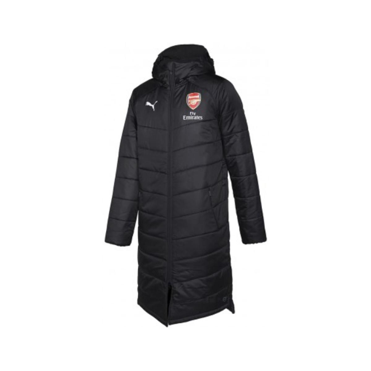 2b7fa391a585 puma-black-2018-2019-Arsenal-Long-Bench-Jacket-Womens-Jacket-In-Black.jpeg