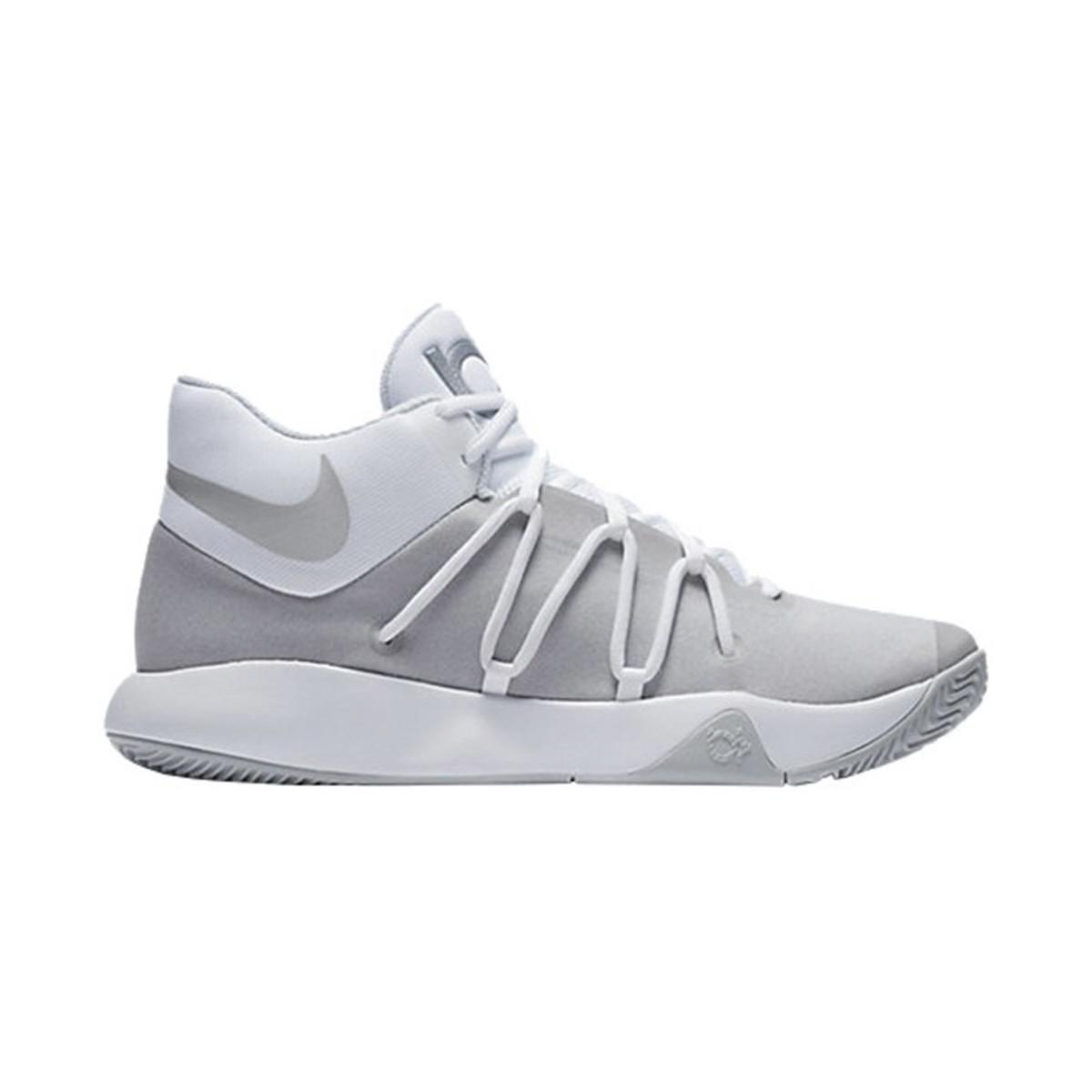 super popular 0378a dfde6 Nike Kd Trey 5 V Men s Shoes (high-top Trainers) In White in White ...