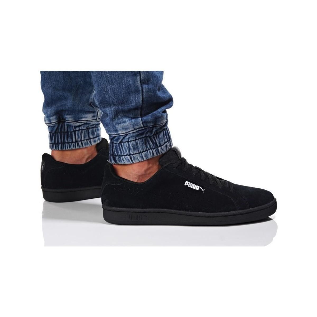 8f3657c023e PUMA Smash Perf Sd Men s Shoes (trainers) In Black in Black for Men ...