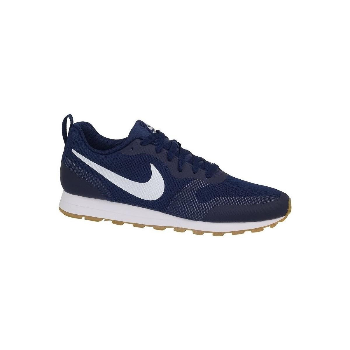 eec3a40de06 Nike Md Runner 2 19 Men s Shoes (trainers) In Multicolour in Blue ...