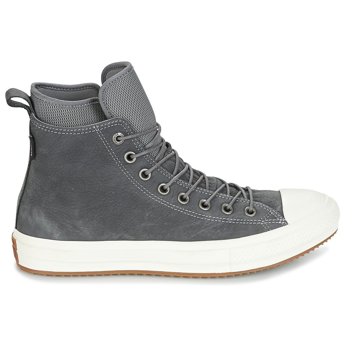 c1989da2175e3 Converse - Gray CHUCK TAYLOR WP BOOT NUBUCK HI hommes Chaussures en Gris  for Men -. Afficher en plein écran