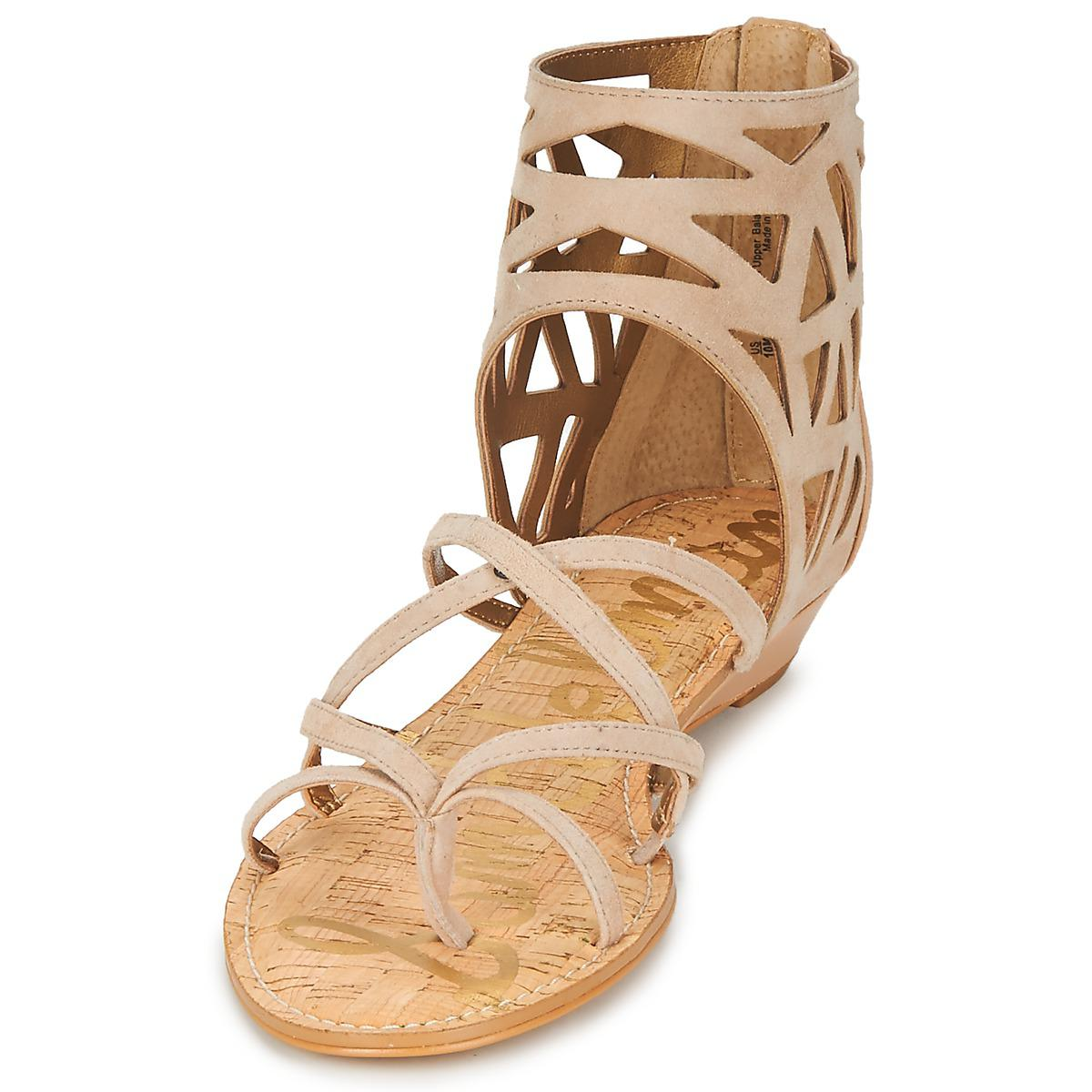 Wnym0v8no Sandals Natural In Lyst Iyvf7b6gym Sam Edelman Dana iOXTPZku