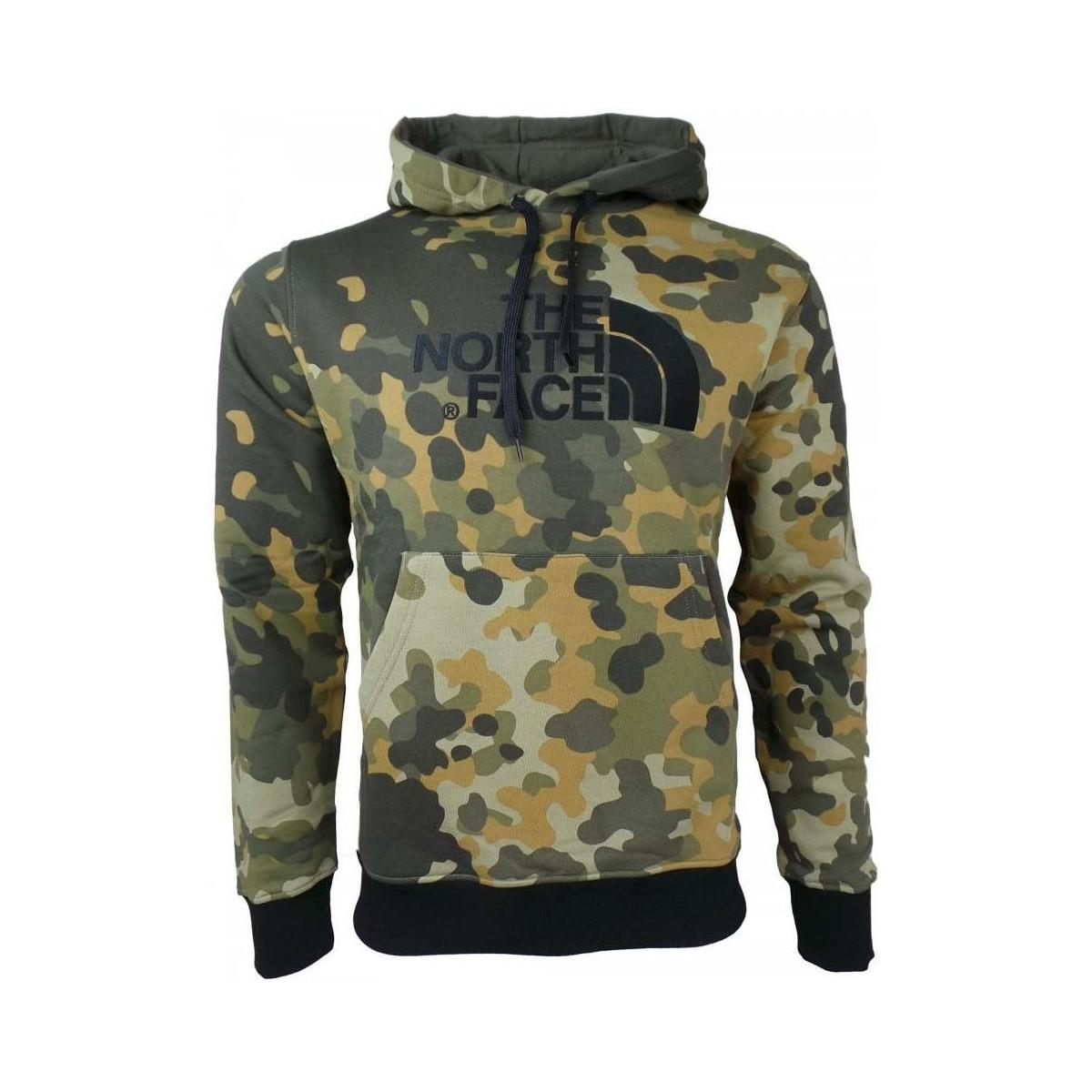 a347bfbef The North Face M Drew Peak Plv Hood Men's Sweatshirt In Green in ...